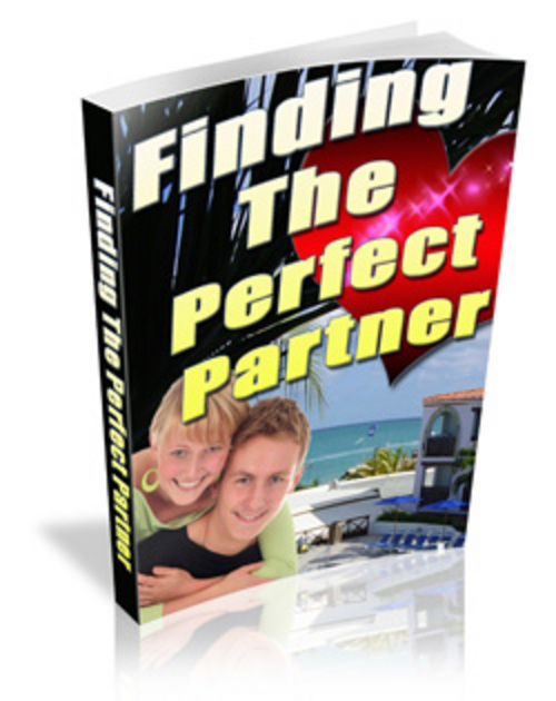 Product picture Finding The Perfect Partner