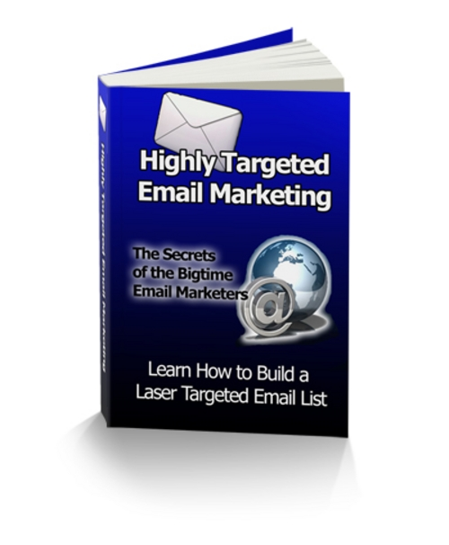 Product picture Highly Targeted Email Marketing-Discover the Secret Methods
